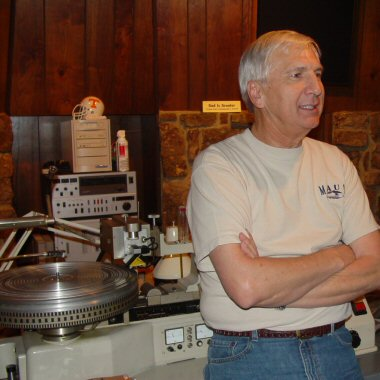 Larry Nix and the Stax mastering lathe